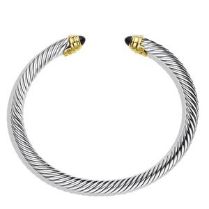 David Yurman Classic Cable Bracelet in Black Onyx